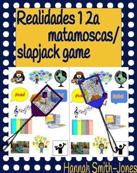 Realidades 1 2a matamoscas fly swatter/slapjack game