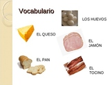 Realidades 1 - 3A Food and ER/IR verbs (Vocabulary and Grammar)