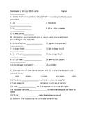Realidades 1 3A Quiz ER verbs
