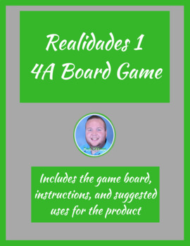 Realidades 1 4A Board Game