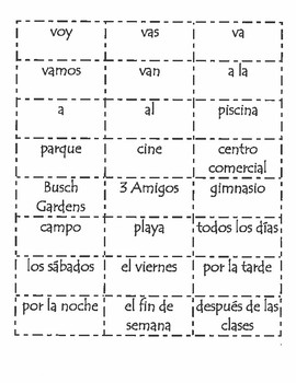 Realidades 1 4A Sentence Formation Practice