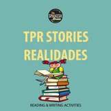 Realidades Spanish 1 4A 4B : TPR reading comprehension questions