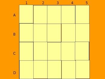 Realidades 1 4A Vocabulary Matching Game