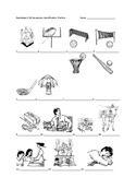 Realidades 1 4B Vocabulary Identification Practice
