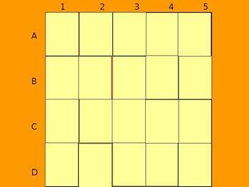 Realidades 1 4B Vocabulary Matching Game