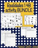 Realidades 1 4B activity BUNDLE