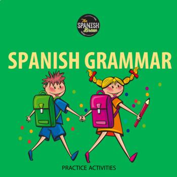 Realidades Spanish 1 5A Writing/ grammar/ vocabulary pract