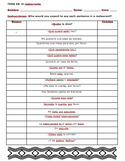 Realidades 1 5B Restaurant Dialogue Warm-up/Practice