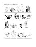 Realidades 1 5B Vocabulary Identification Practice/Quiz