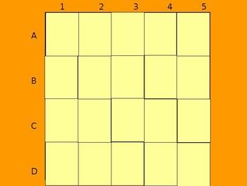 Realidades 1 5B Vocabulary Matching Game
