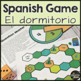 Spanish 1 board game about the bedroom or dormitorio w digital