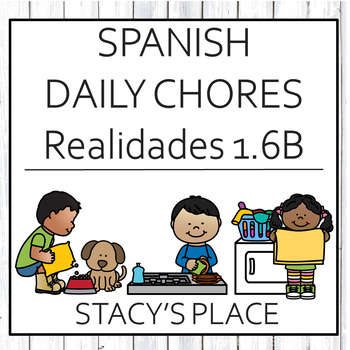Spanish 1 Chores Fill in the Blank