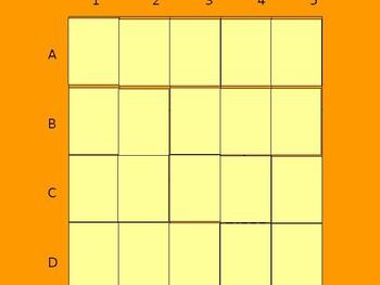 Realidades 1 6B Vocabulary Matching Game