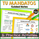 Spanish 1 worksheet: Affirmative tú commands (mandatos)