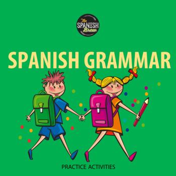 Realidades Spanish 1 6B grammar practice: review commands & present progressive