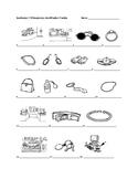 Realidades 1 7B Vocabulary Identification Practice/Quiz