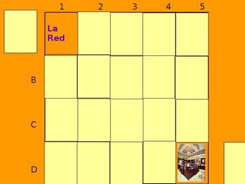 Realidades 1 7B Vocabulary Matching Game