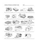 Realidades 1 8B Vocabulary Identification Practice/Quiz