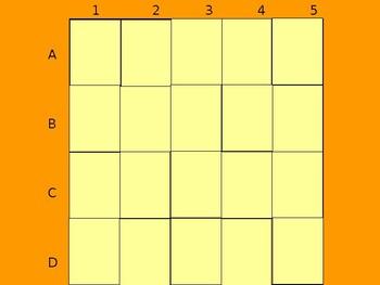 Realidades 1 8B Vocabulary Matching Game