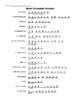 Realidades 1 9B Word Scramble with solutions