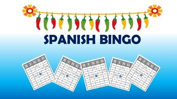 Realidades 1 BINGO BUNDLE Spanish 1 BINGO