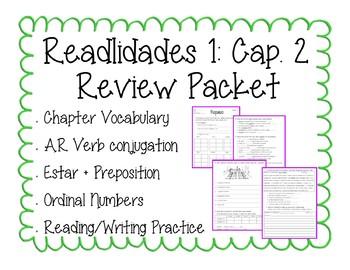 Realidades 1: Cap. 2 Review Packet