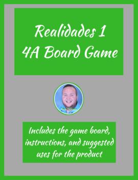 Realidades 1 3A Board Game