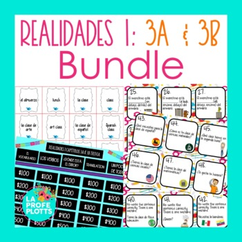 Realidades 1 Spanish Chapter 3b Worksheets Teaching