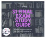 Realidades 1 Ch PE-2A Final Exam Sem 1 *EDITABLE* reading & writing practice