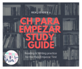 Realidades 1 Ch Para Empezar Study guide *EDITABLE* readin