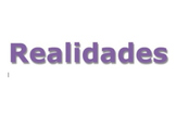 Realidades 1 Chapter 1B Vocabulary and Textbook Exercises