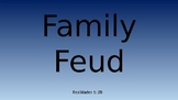 Realidades 1: Chapter 2B Family Feud