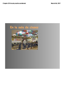 Realidades 1 Chapter 2B vocabulary and Grammar practice