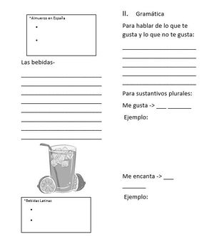Realidades 1 Chapter 3A Powerpoint and Handouts