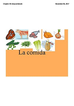 Realidades 1 Chapter 3B vocabulary and Grammar Story