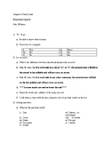 Realidades 1 Chapter 4 Study Guide