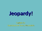 Realidades 1 Chapter 5A Jeopardy Review