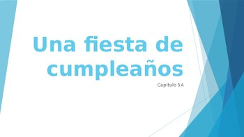 Realidades 1 Chapter 5A Powerpoint