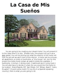 Dream House Project in Spanish Realidades 1 Chapter 6