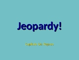 Realidades 1 Chapter 6A Jeopardy Review