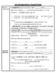 Realidades 1 Chapter 6A Summary Student Fill-In + Answer Key