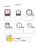 Realidades 1 PE Chapter La Hora Notes