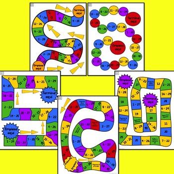 Realidades 1 Para Empezar - Chap 9B Board Game BUNDLE #3