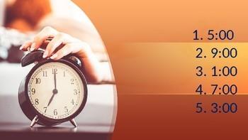 Realidades 1 Para Empezar : ¡Pásalo! Telling Time