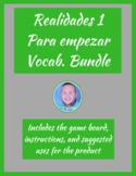 Realidades 1 Para empezar Vocab. Bundle