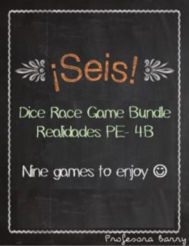 Realidades 1 Seis Games Bundle (Chapters PE - 4B)