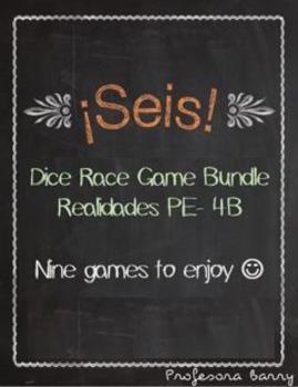 Realidades 1 Seis Games Bundle (Chapters PE - 4B)