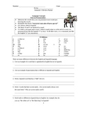 Realidades 1 Spanish 1 Semester Review Packet