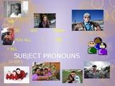 Realidades 1: Subject Pronouns
