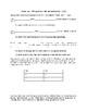 Realidades 1 Tema 3 3a 3b Guided notes and practice worksheets